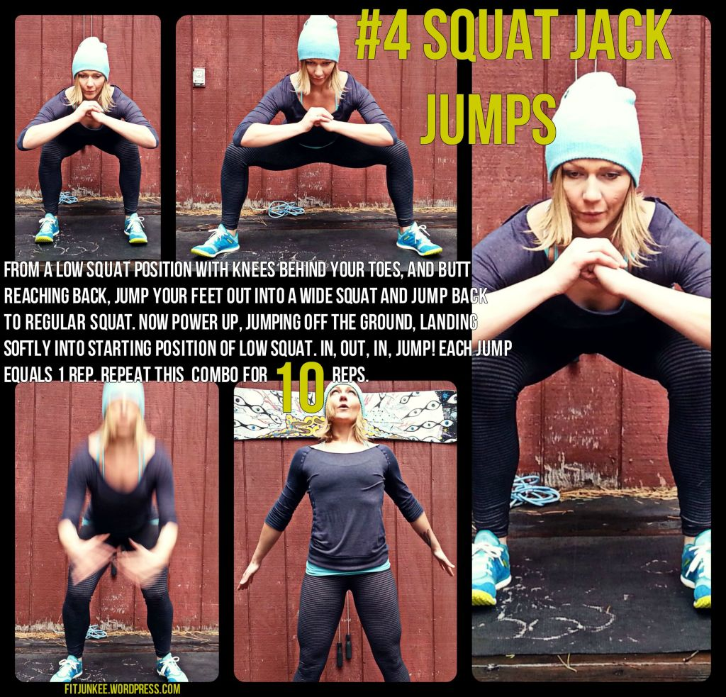 Squat Jack Jumps