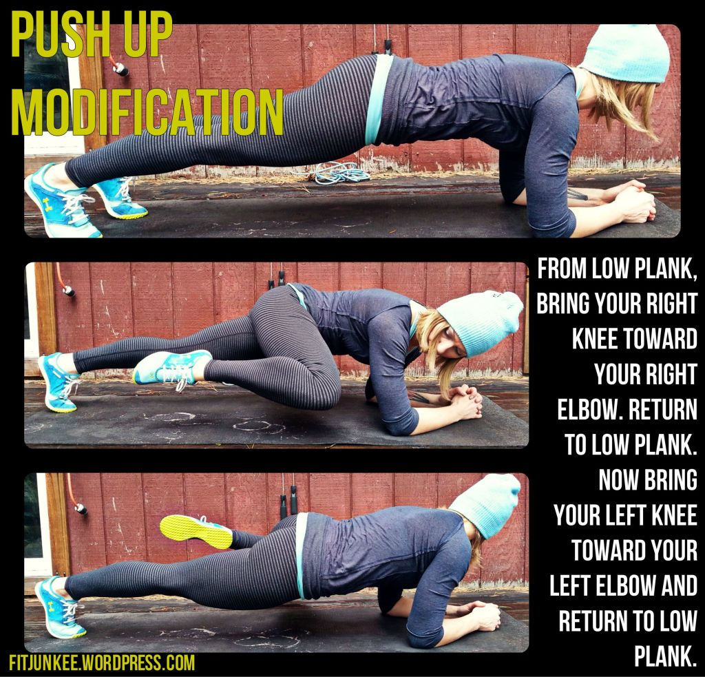 Push Up Modification