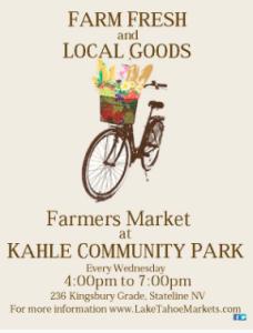 KAHLE FARMERS' MARKET @ Kahle Community Park | Stateline | Nevada | United States