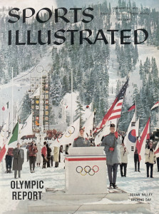 1960 winter Olympics in Squaw Valley.
