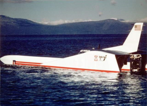 US Discovery II World Speed Attempt 1980