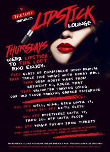 Lipstick Lounge @ The Loft Tahoe - Heavenly Village  | South Lake Tahoe | California | United States