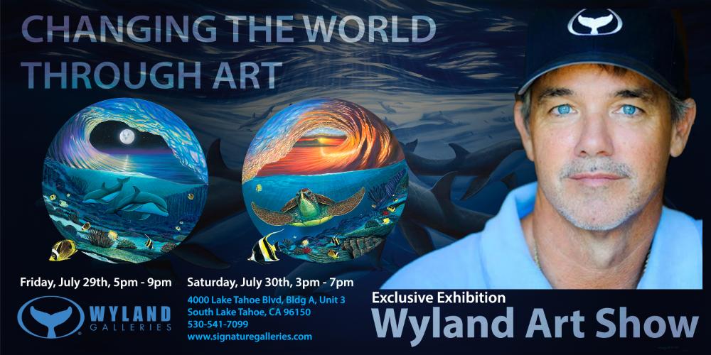 Wyland Art Show @ Wyland Gallery